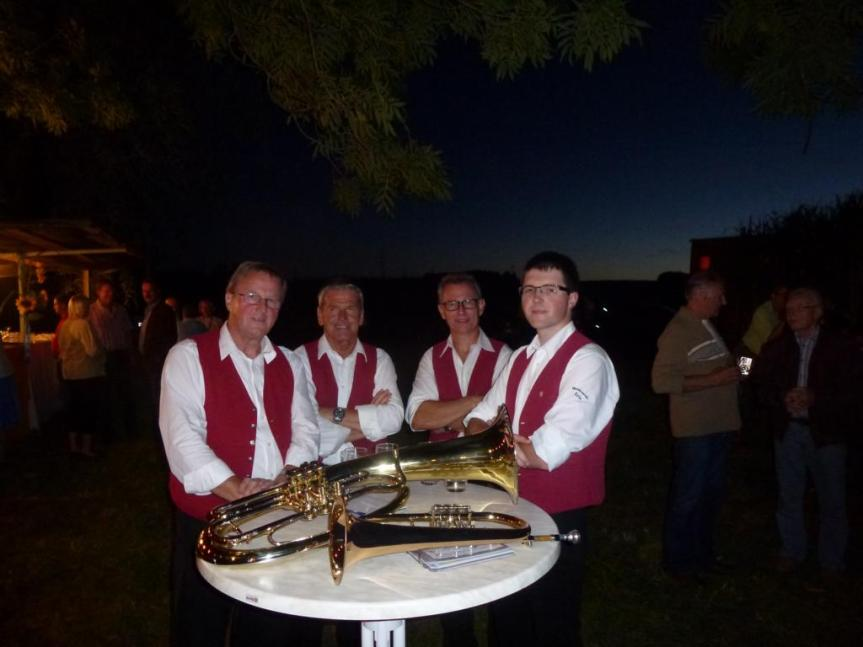 Weisenblasen des Blasorchester der CNH am 15.September