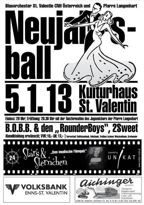 Plakat Neujahrsball 2013