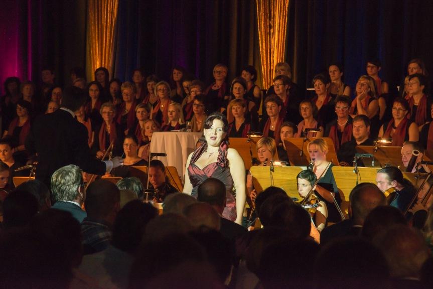 Sopranistin Regina Riel - Foto Hochreiter