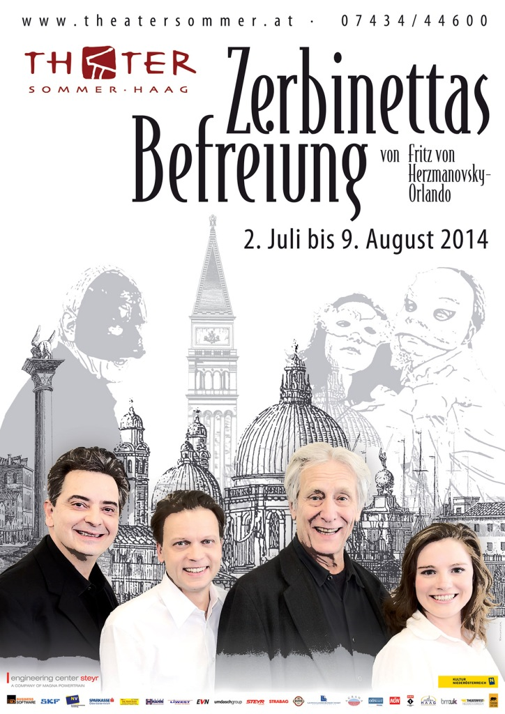 Plakat Theatersommer 2014