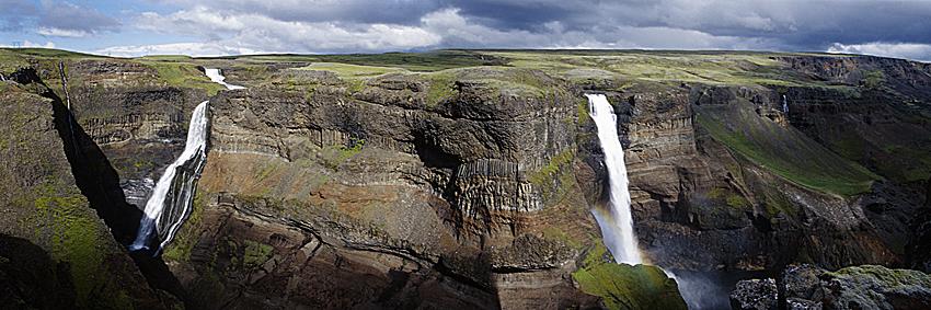 Háifoss, Island*Háifoss, Iceland