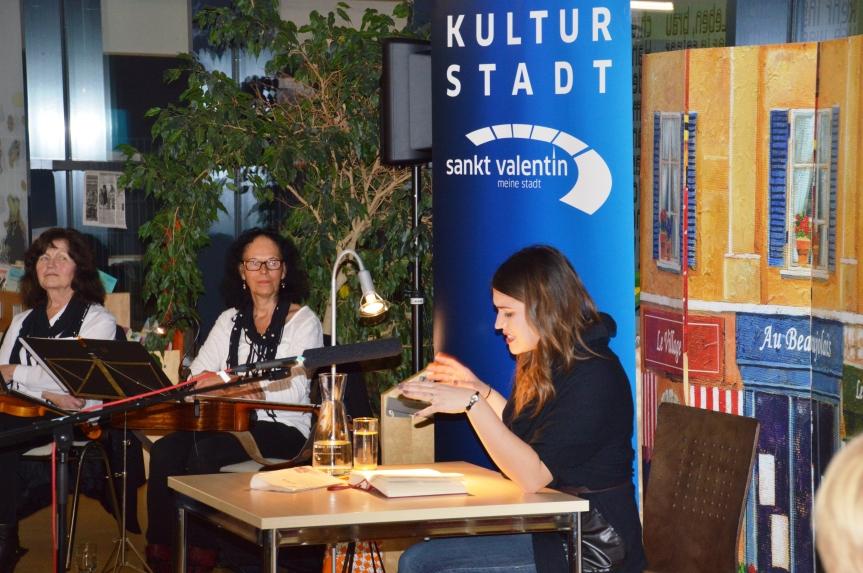 Musikalische Umrahmung durch Margit Ahorn und Gerti Lischka