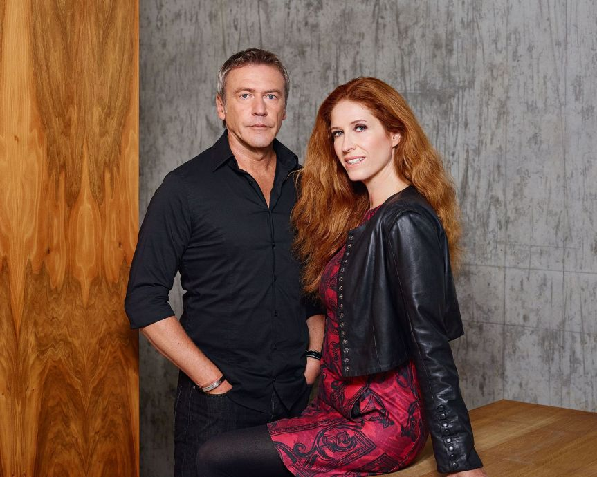 Ursula Poznanski und Arno Strobel