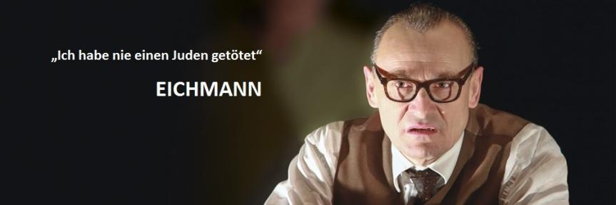 """Theaterstück """"EICHMANN"""" von Rainer Lewandowski 19.05.2017 Volksheim St.Valentin"""