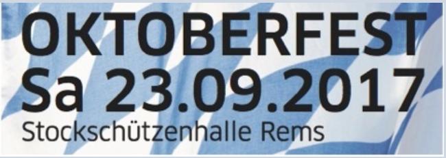 Oktoberfest der Vereine am23.09.2017