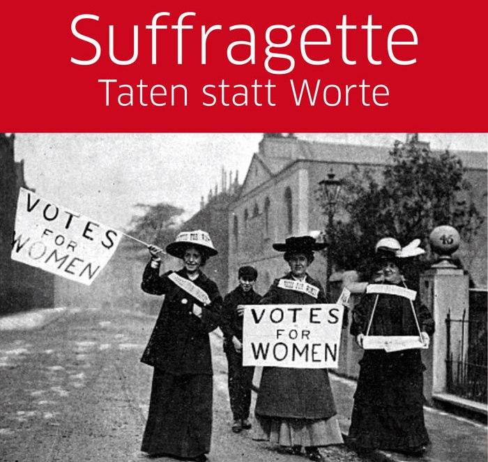 """""""Suffragette"""" – Filmabend anlässlich des Equq Pay Days am29.09.2017"""