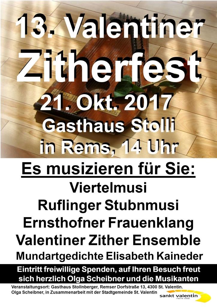 13. Valentiner Zitherfest