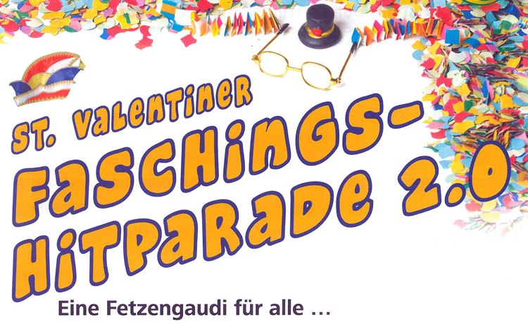 Faschingshitparade am 02.03.2019