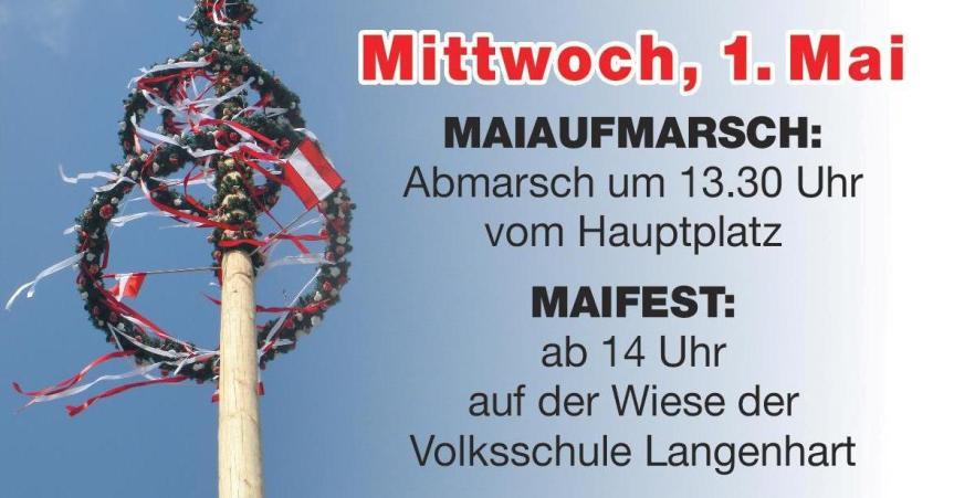 Einladung zum Maifest der SPÖ St.Valentin