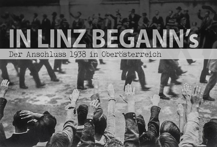 """Filmvorführung """"In Linz begann´s – Der `Anschluss´ 1938 in Oberösterreich"""" in derStadtbiliothek"""