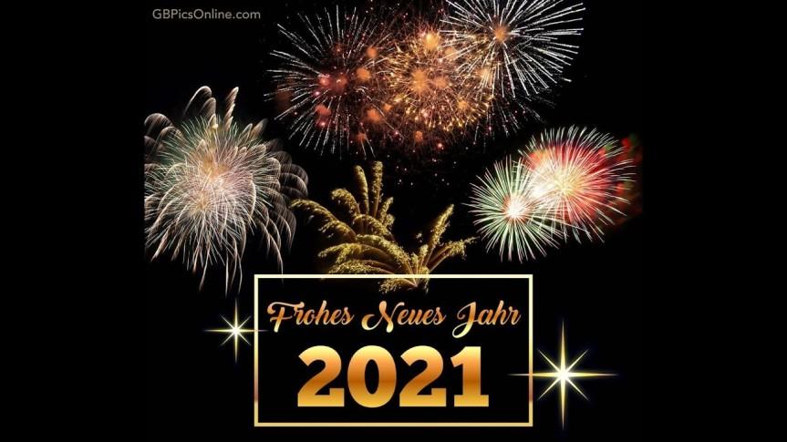 Viel Gesundheit und Glück im Jahr 2021 wünscht euch LeopoldFeilecker